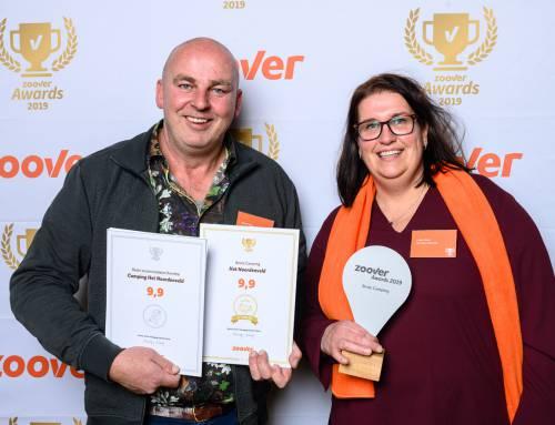 Winnaar van twee Zoover Awards